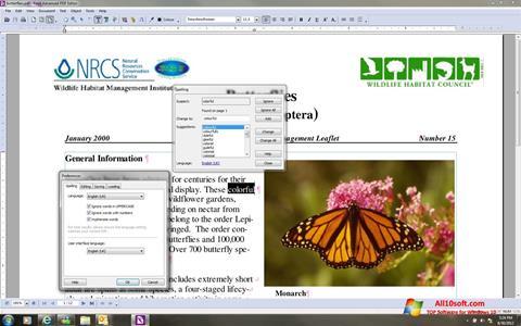 Στιγμιότυπο οθόνης Foxit Advanced PDF Editor Windows 10