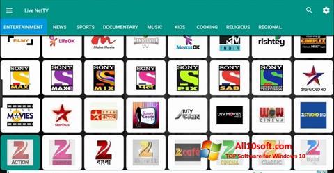 Στιγμιότυπο οθόνης Net TV Windows 10