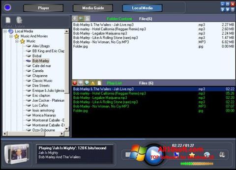 Στιγμιότυπο οθόνης Online TV Live Windows 10