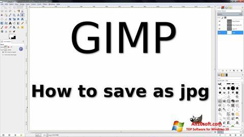 Στιγμιότυπο οθόνης GIMP Windows 10