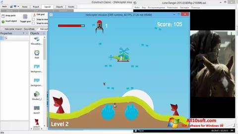 Στιγμιότυπο οθόνης Construct Classic Windows 10