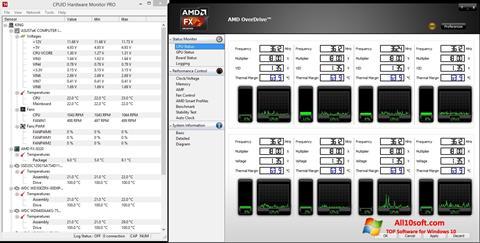 Στιγμιότυπο οθόνης AMD Overdrive Windows 10
