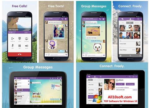 Στιγμιότυπο οθόνης Viber Windows 10