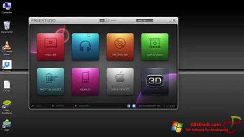 Στιγμιότυπο οθόνης Free Studio Windows 10