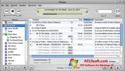 Στιγμιότυπο οθόνης iTunes Windows 10
