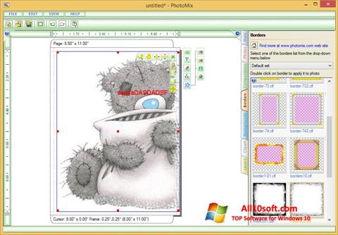 Στιγμιότυπο οθόνης PhotoMix Collage Windows 10