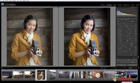 Στιγμιότυπο οθόνης Adobe Photoshop Lightroom Windows 10