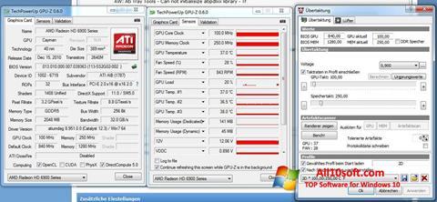 Στιγμιότυπο οθόνης ATI Tray Tools Windows 10