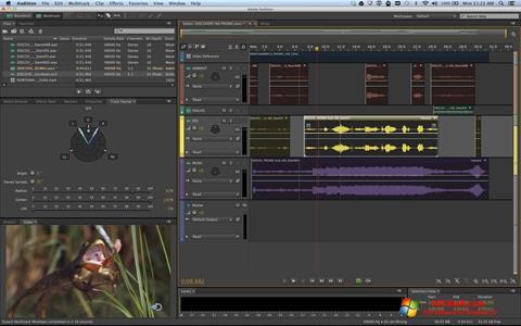 Στιγμιότυπο οθόνης Adobe Audition Windows 10