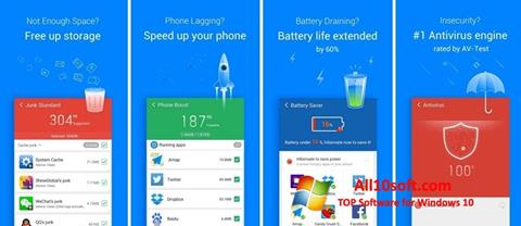 Στιγμιότυπο οθόνης Clean Master Windows 10