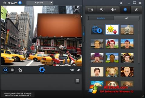 Στιγμιότυπο οθόνης CyberLink YouCam Windows 10