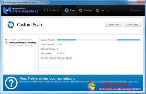 Στιγμιότυπο οθόνης Malwarebytes Anti-Malware Free Windows 10