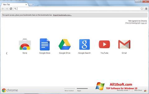 Στιγμιότυπο οθόνης Google Chrome Windows 10