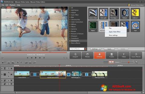 Στιγμιότυπο οθόνης Movavi Video Suite Windows 10