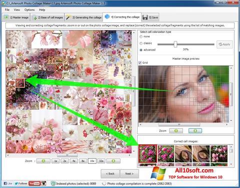 Στιγμιότυπο οθόνης Photo Collage Maker Windows 10