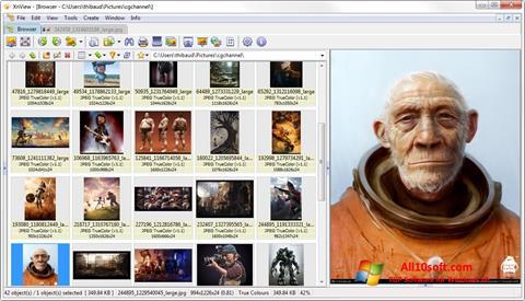 Στιγμιότυπο οθόνης XnView Windows 10