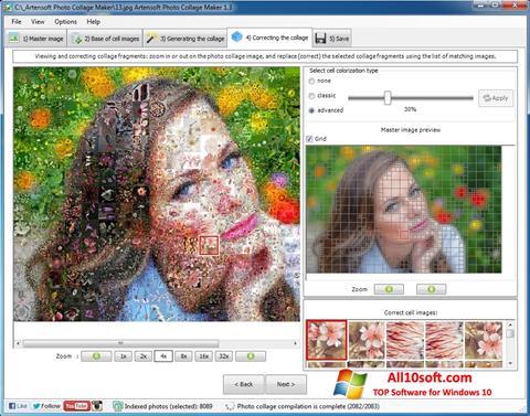 Στιγμιότυπο οθόνης Photo Collage Windows 10