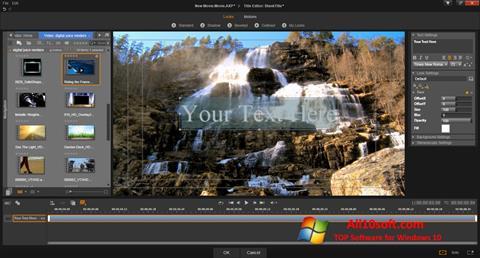 Στιγμιότυπο οθόνης Pinnacle Studio Windows 10