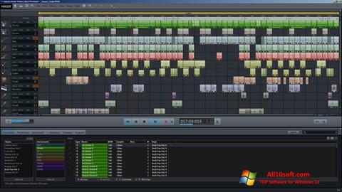 Στιγμιότυπο οθόνης MAGIX Music Maker Windows 10