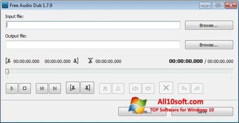 Στιγμιότυπο οθόνης Free Audio Dub Windows 10